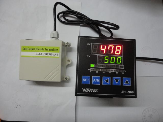 CDC系列简易二氧化碳传感器控制系统