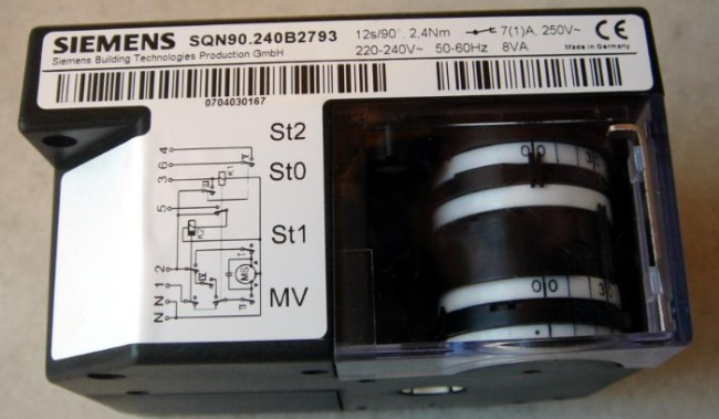 SQN9...系列风门执行器